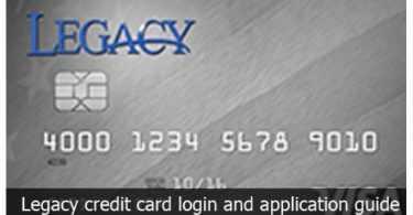 legacy credit card