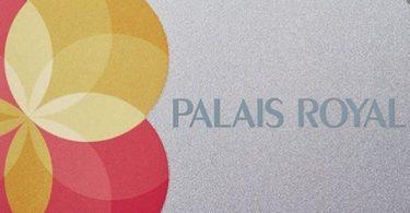 palais royal credit card