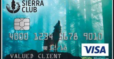 sierra club credit card