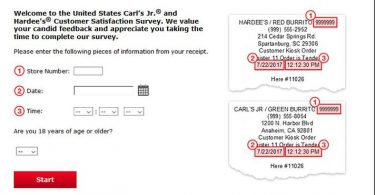Carl's Jr. Survey