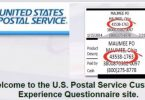 USPS Experience Survey