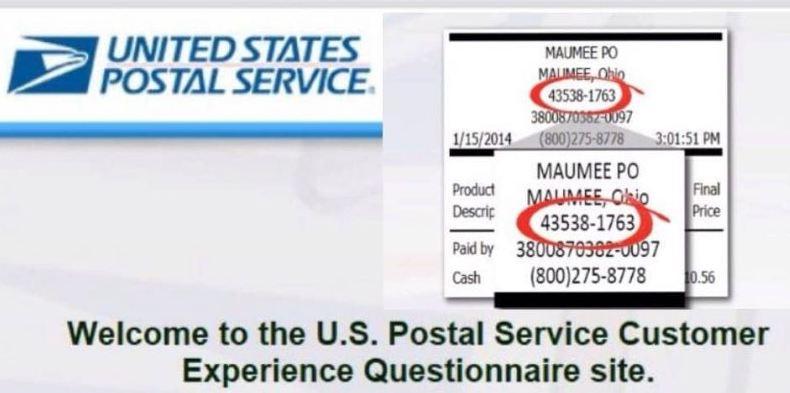 USPS Experience Survey